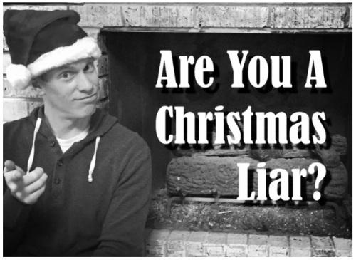 AM Christmas Liar BW